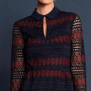 Trina Turk Dresses - TRINA TURK Lave Colorblock Rodin Dress Sz 8